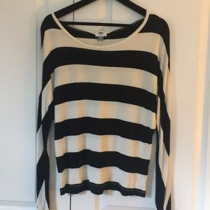 Old Navy batwing dolman sleeve top shirt M